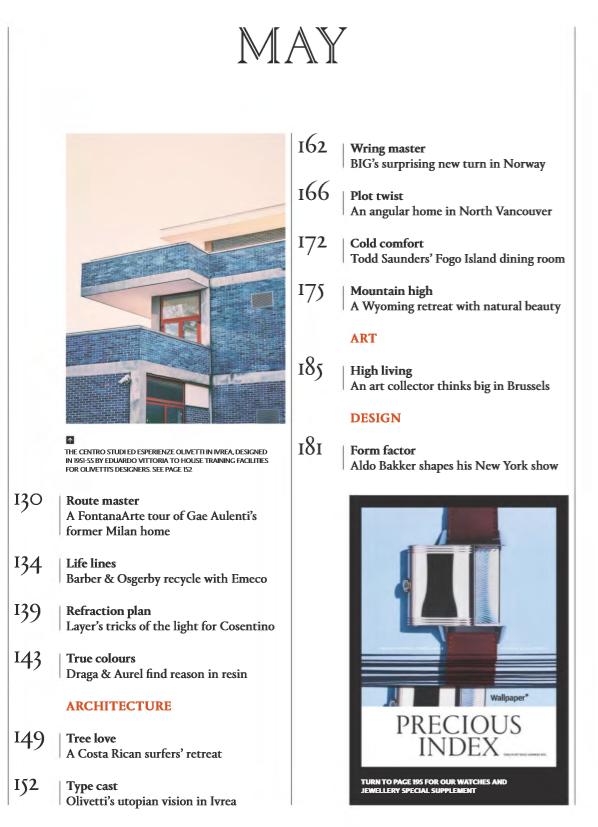 英文阅读杂志《Wallpaper》2019年4月刊PDF下载word下载!