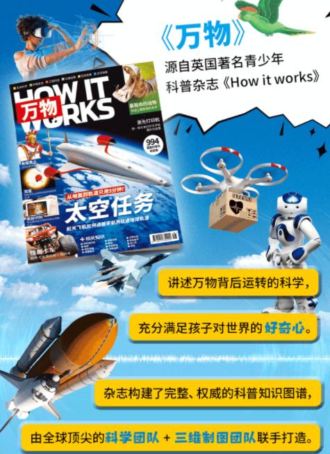 儿童科普杂志 How It Works 2019年合集(1-4) 下载(电子版+视频)