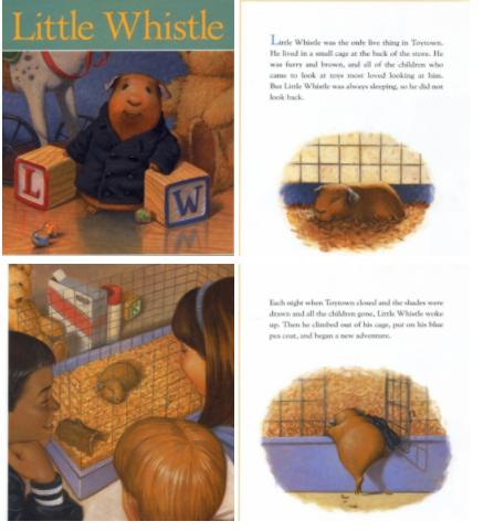 小学生英语绘本《小哨的圣诞节》Little Whistle's Christmas云盘下载