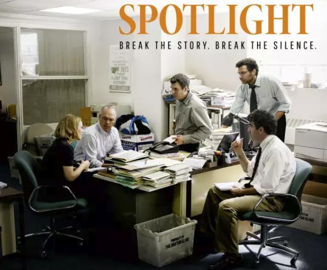 奥斯卡最佳影片《聚焦》(Spotlight)高分真实事件改编