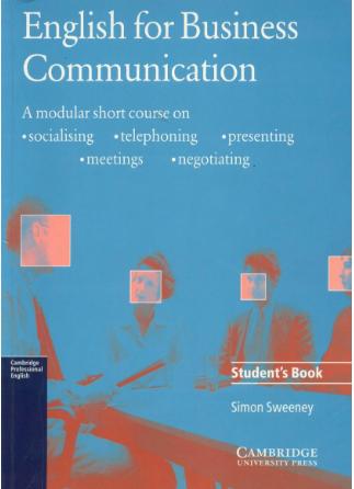 商业英文学习书籍English For Business Communication云盘下载(音频+视频)