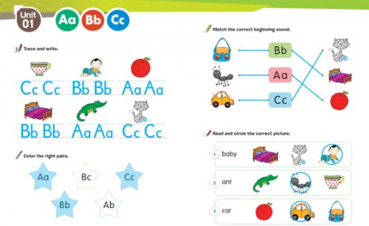 儿童自然<b style='color:red'>拼读</b>GO GO Phonics(PDF+MP3+flash游戏)4册下载(PDF+音频)