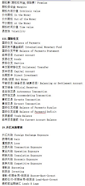 bec金融英语词汇|剑桥商务英语BEC国际金融词汇大汇总下载地址