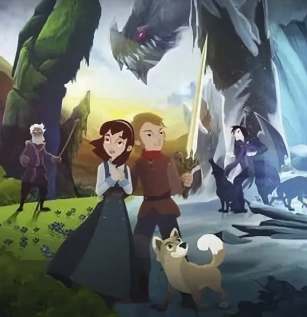 少儿小众动画片《冰龙传说》高清mp4迅雷下载