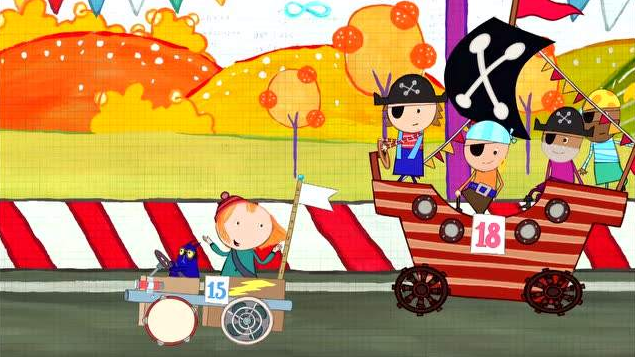 3-6岁儿童英语动画片《佩格和小猫 Peg+Cat》第2季下载网盘资源下载。