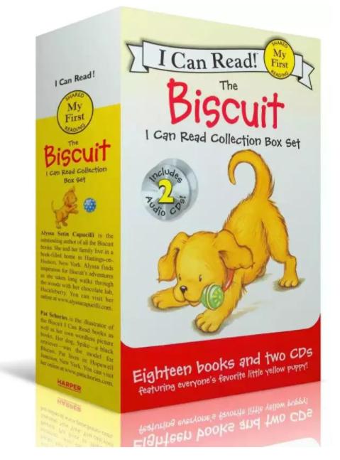 儿童绘本《小饼干狗Biscuit》<b style='color:red'>全套</b>46本绘本(音频+译文)下载全集下载。