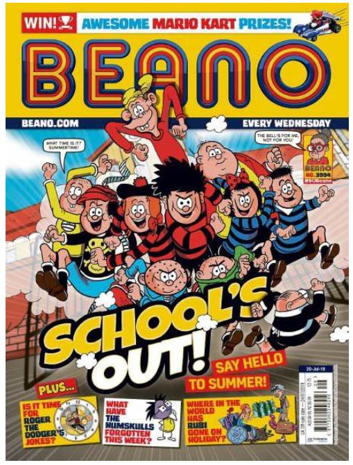 英国儿童漫画杂志《The Beano(比诺)》2019年10月12刊免费领取!
