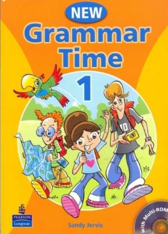 小学英语语法书 New Grammer TimeLevle1-5 全套资源下载建议人手一份!
