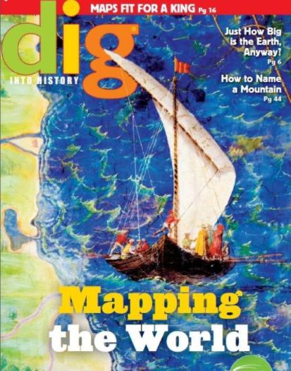 北美儿童杂志 Dig into History2019全1-6月刊<b style='color:red'>值得</b>收藏!