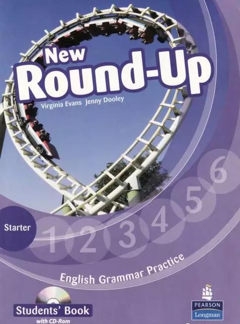 原版全彩语法教材《New Round up》含文本加音频最新