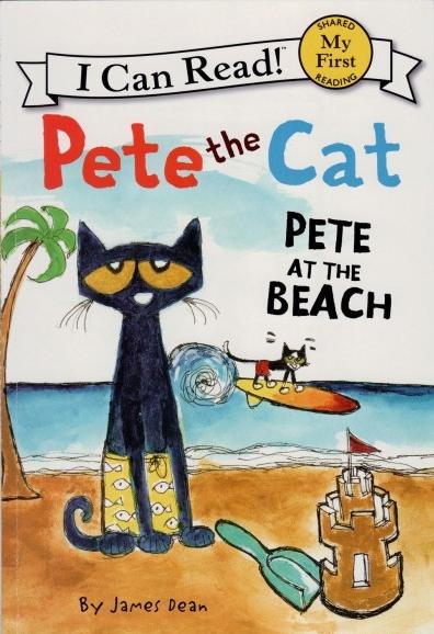 <b style='color:red'>有声</b>绘本:《Pete at the Beach》皮特在海滩全套分享