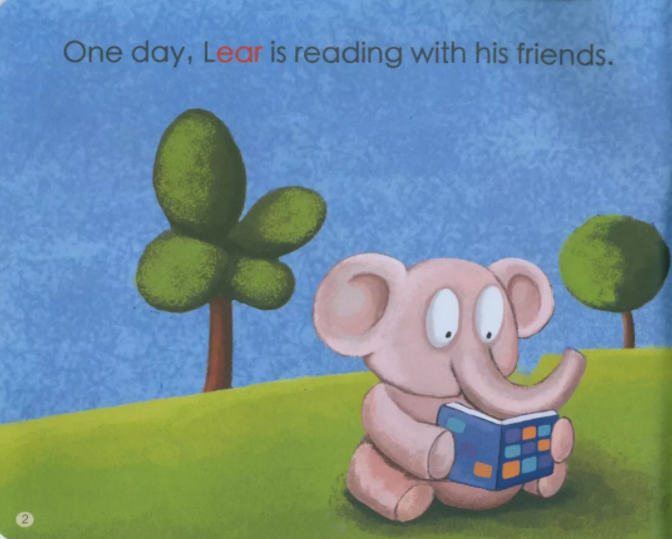 少儿英语绘本:Sound in Lear's Ear 李尔耳朵里的声音资料大全