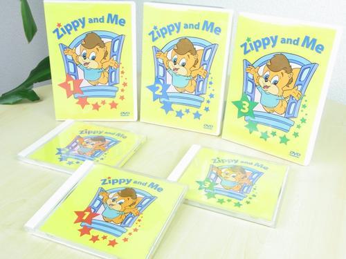 迪斯尼美语世界《Zippy And Me》共3集(视频+PDF+MP3)百度云分享!