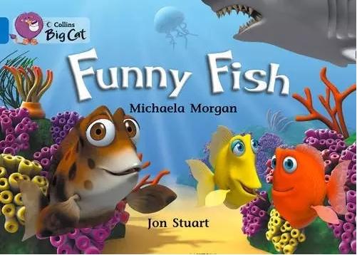 幼儿英语绘本《Funny Fish 有趣的鱼》电子版下载!