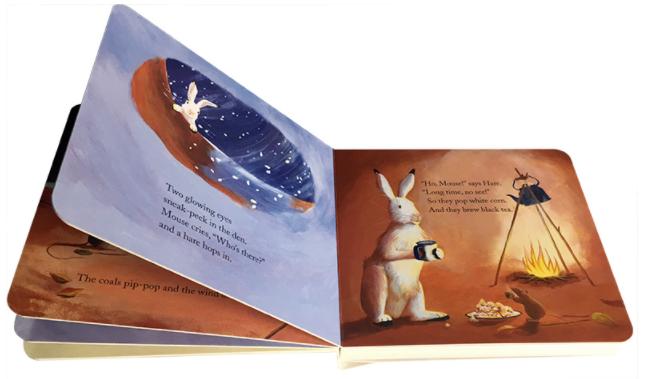 暖房子经典绘本系列 Bear Snores On 贝尔熊打呼噜pdf+mp3下载视频下载!