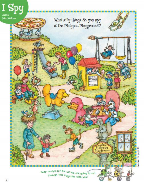 欧美儿童杂志Cricket Media2019年3月刊下载免费分享