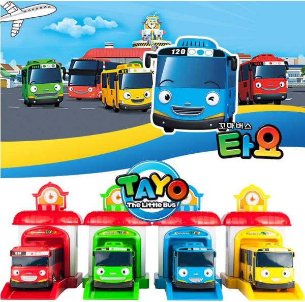 小巴士儿歌系列《泰路可爱小巴士》视频1-4季全资源大全