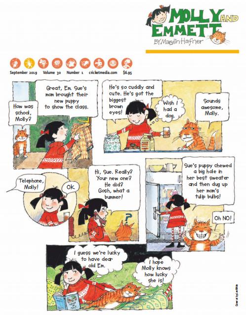 美国儿童故事杂志《小瓢虫(Ladybug)》2019年11月刊必备资源下载!