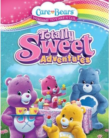 儿童卡通动画《爱心小熊 care bears》英文版9集pdf分享!