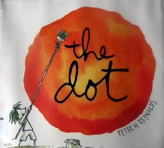 儿童英语绘本 | 《The Dot 点》PDF下载免费获取。