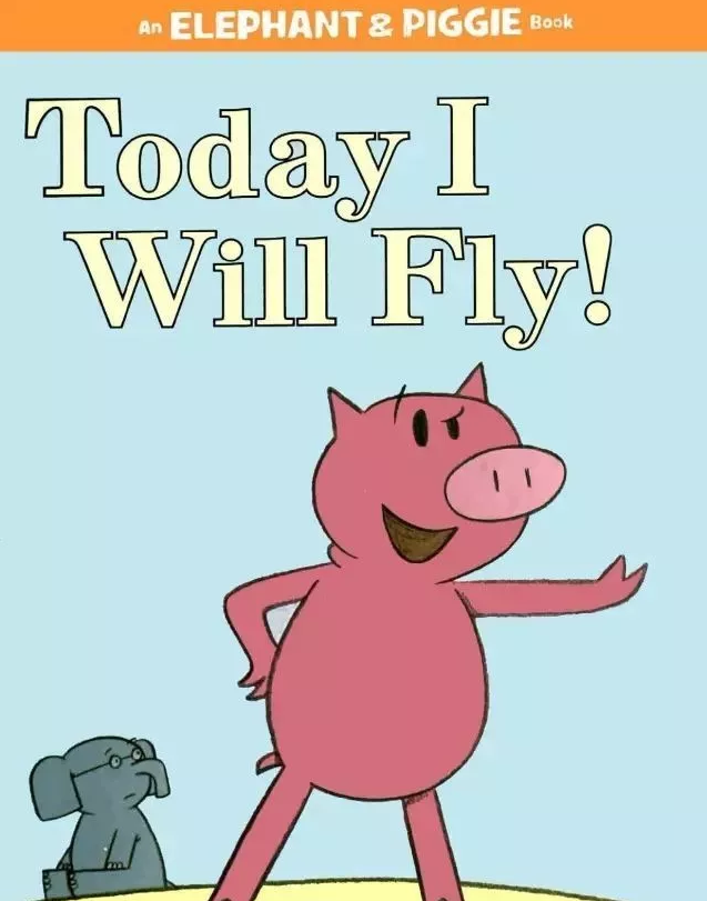 <b style='color:red'>少儿英语</b>绘本丨今天我想飞 Today I will fly!网盘自取。