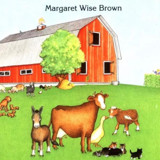 睡前英文小故事《一座红色的大农舍》Big red barn百度网盘分享!