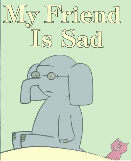 经典英文绘本《我的朋友不开心》在线阅读资源分享