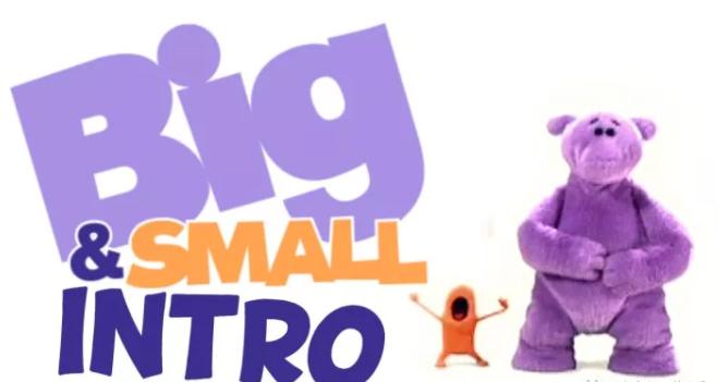 BBC英文动画片《大与小》Big and Small 全2季共51集百度网盘分享