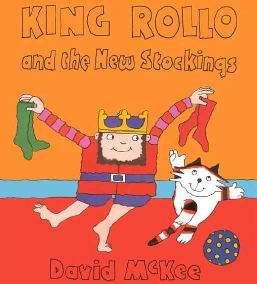 少儿睡前绘本《国王Rollo的新袜子》King Rollo and the New Stockingspdf下载!