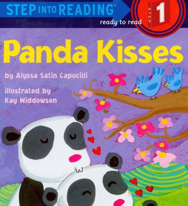 兰登分级阅读 | Panda kisses 熊猫的亲吻需要的赶快拿。