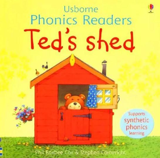 少儿绘本故事丨泰德的小屋 Ted's shed你还没有吗?