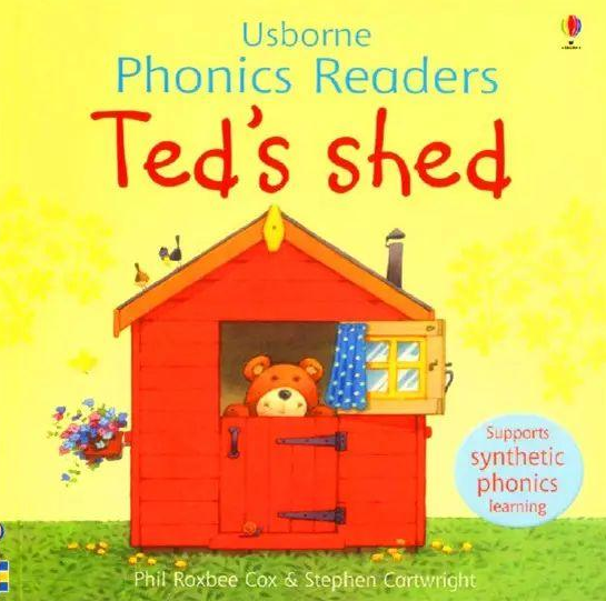 <b style='color:red'>少儿</b>绘本故事丨泰德的小屋 Ted&#039;s shed网盘分享!