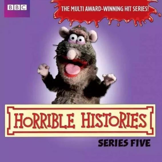 CBBC出品《糟糕历史》Horrible Histories 全五季视频资源(<b style='color:red'>PDF</b>+视频)