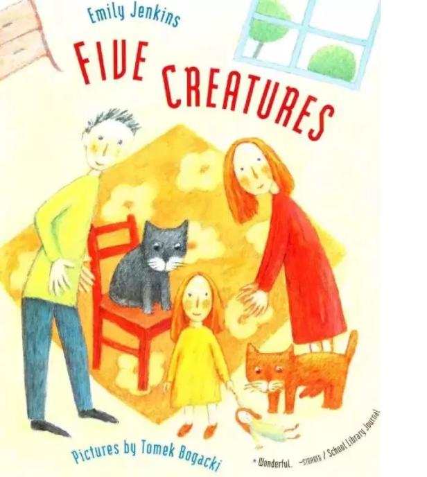 <b style='color:red'>少儿</b>绘本故事 | 五个生灵 Five Creatures资源分享!