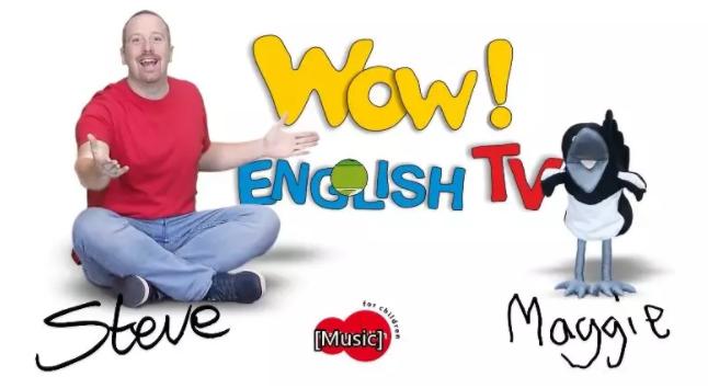 《Wow English TV》史提夫少儿趣味英语动画视频全集1-9季百度网盘!