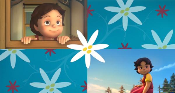 高清英语动画片《Heidi-海蒂和爷爷》世界名著