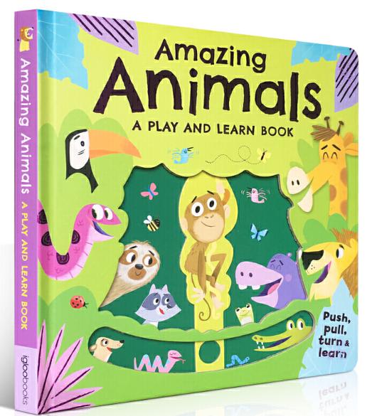 动物知识科普童书:神奇的动物 Amazing Animals 高清PDF网盘下载!