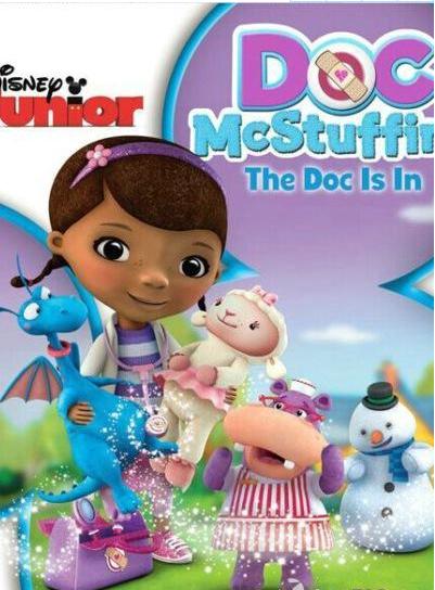 迪尼斯儿童动画《玩具小医生 Doc McStuffins》四季全百度云分享