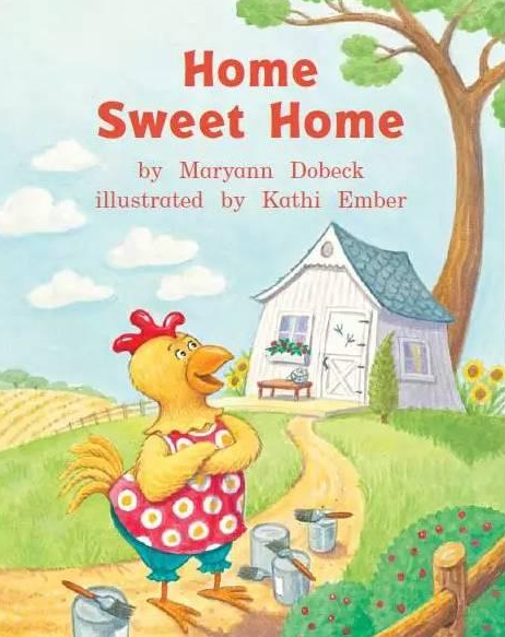 <b style='color:red'>儿童</b>英语绘本故事丨家,甜蜜的家 Home sweet home资源大全