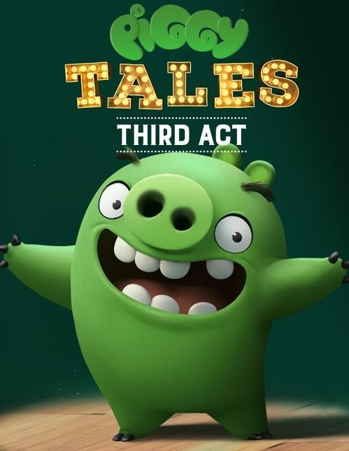 卡通系列短片《愤怒的小鸟之猪猪传》第一二季全集全套