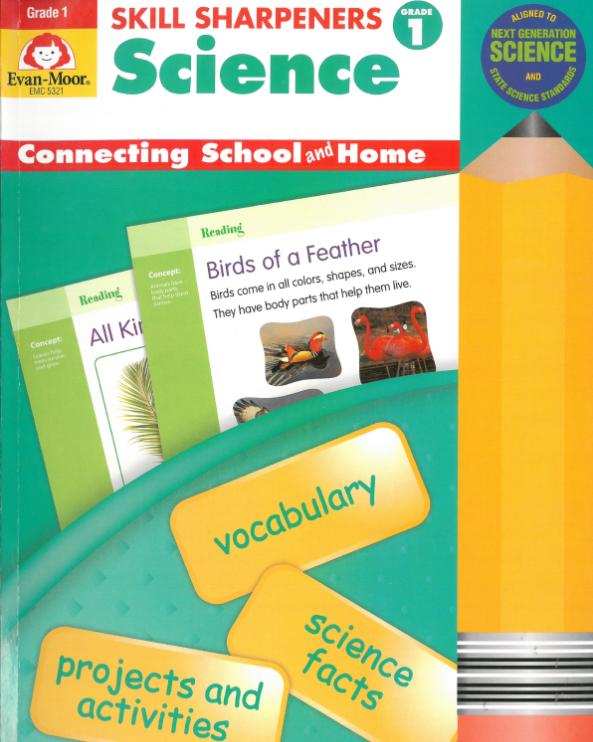 美国金牌练习册出版的《Skill Sharpeners Science》<b style='color:red'>全套</b>云盘下载!