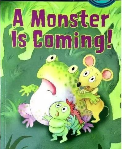 《怪兽来了》A Monster is coming 培养孩子独立思考能力电子书