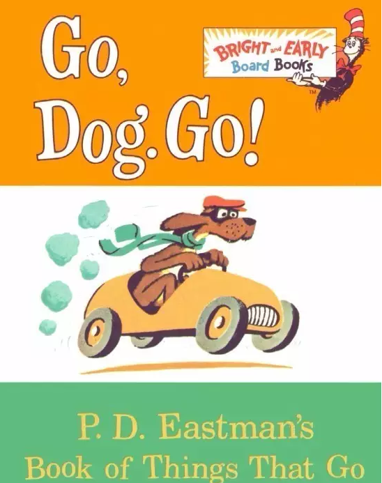 《前进吧,大狗子 Dog!Go!Dog!》从故事里学交通方式的英文下载地址