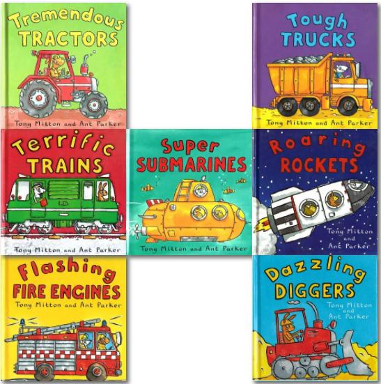 神奇的机器系列绘本10册全 激发小朋友对百科知识的兴趣视频下载!