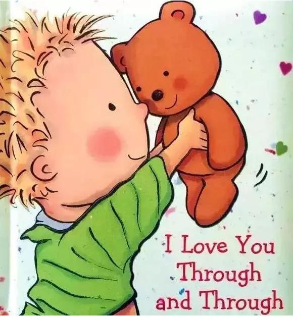 《我愛你的一切》英語繪本,關于表達愛的兒童