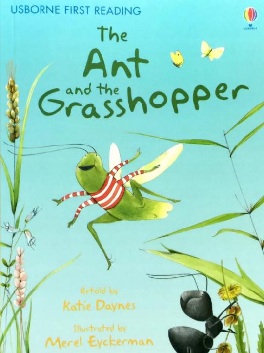 蚂蚁和蚱蜢的读后感悟,经典伊索寓言英语儿童剧最齐全
