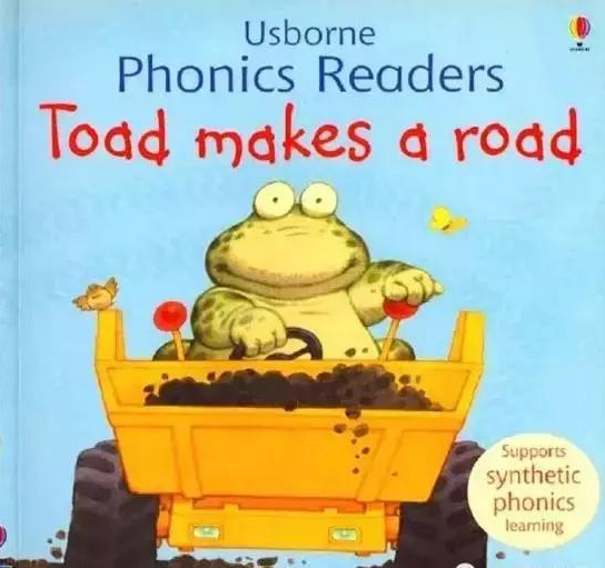 小蟾蜍开路 Toad makes a road,斯伯恩自然拼读系列(电子版+视频)