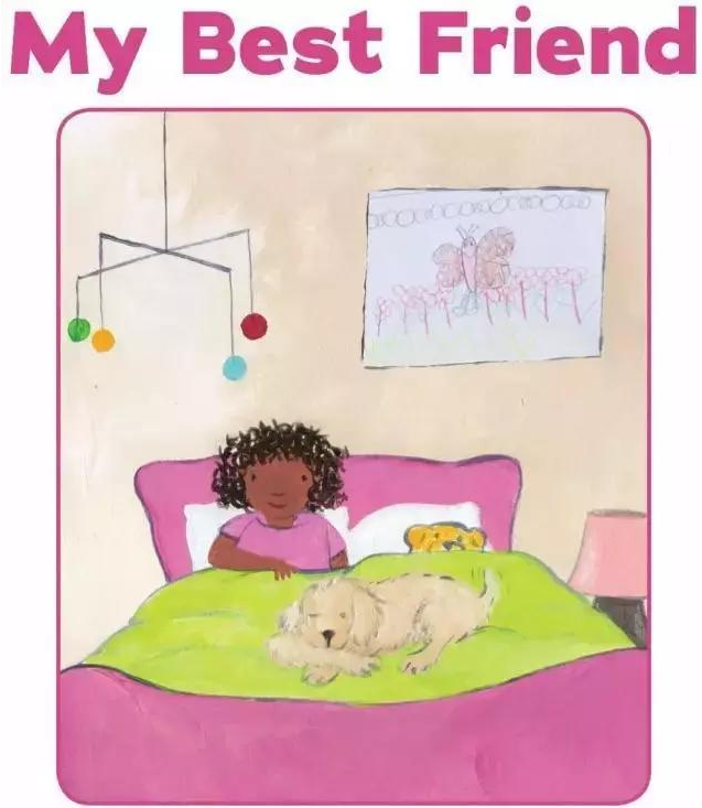 儿童英文绘本故事丨我的好朋友 My Best Friend<b style='color:red'>学习</b>分享