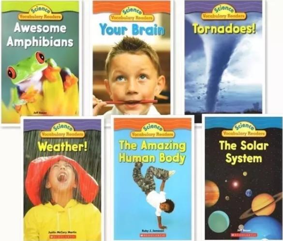 《科学词汇》系列丛书24本,帮助孩子学好英语中的科学词汇(PDF+音频)