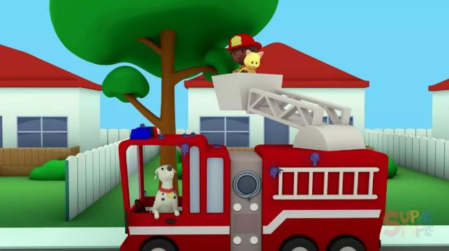 卡尔的洗车店适合启蒙吗?小朋友不容错过的英文动画片视频分享!